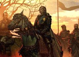 Карточные бои и сюжетные сцены в геймплейном трейлере RPG «Кровная вражда. Ведьмак. Истории»