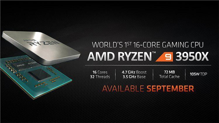 Анонс AMD Ryzen 9 3950X: 16-ядерный процессор для топовых игровых сборок   Канобу - Изображение 2