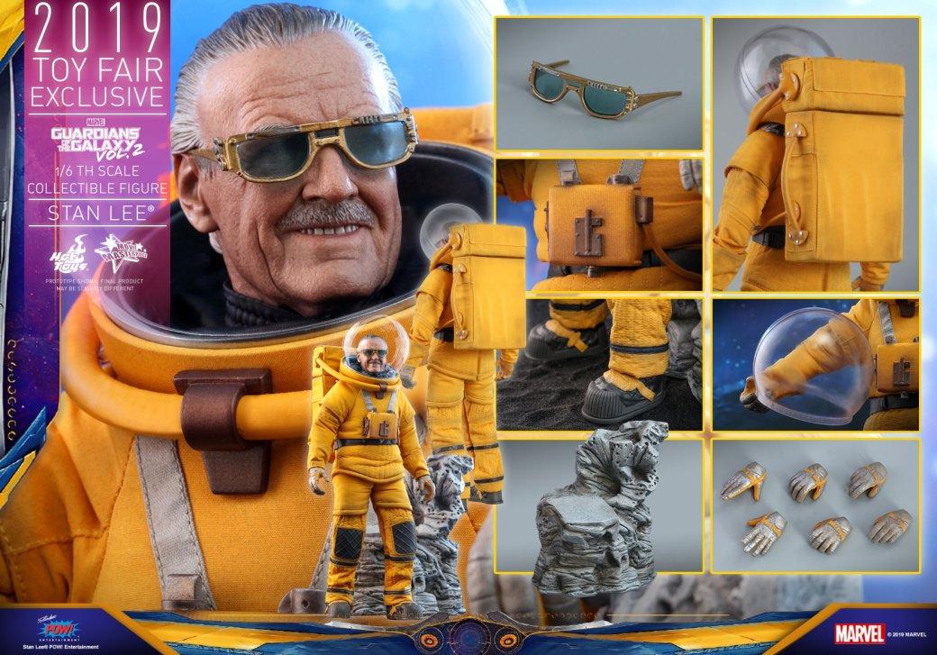 Hot Toys выпустит экшен-фигурку Стэна Ли из «Стражей галактики 2». Она выглядит потрясающе!    Канобу - Изображение 4