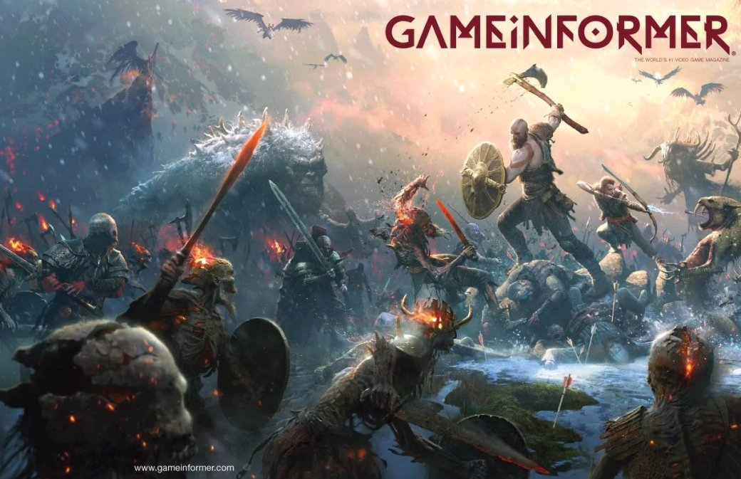 Оглушить и разорвать на части! Новые подробности геймплея God of War | Канобу - Изображение 1