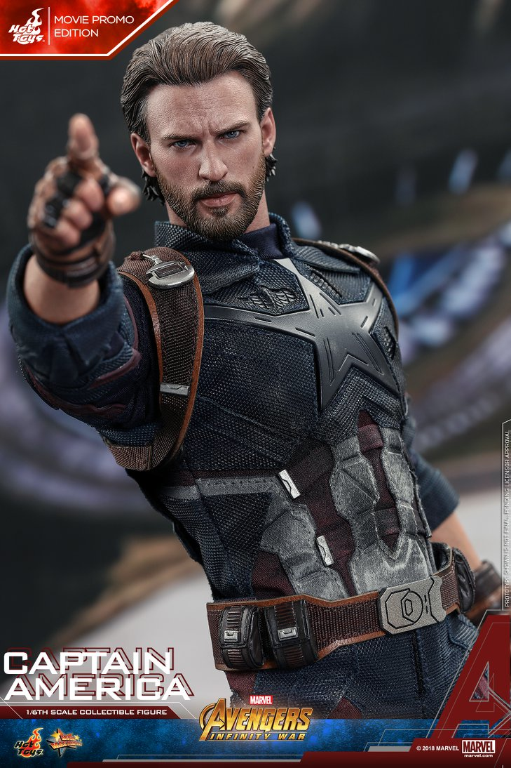 Взгляните нановую фигурку Капитана Америка из«Войны Бесконечности» отHot Toys. - Изображение 8