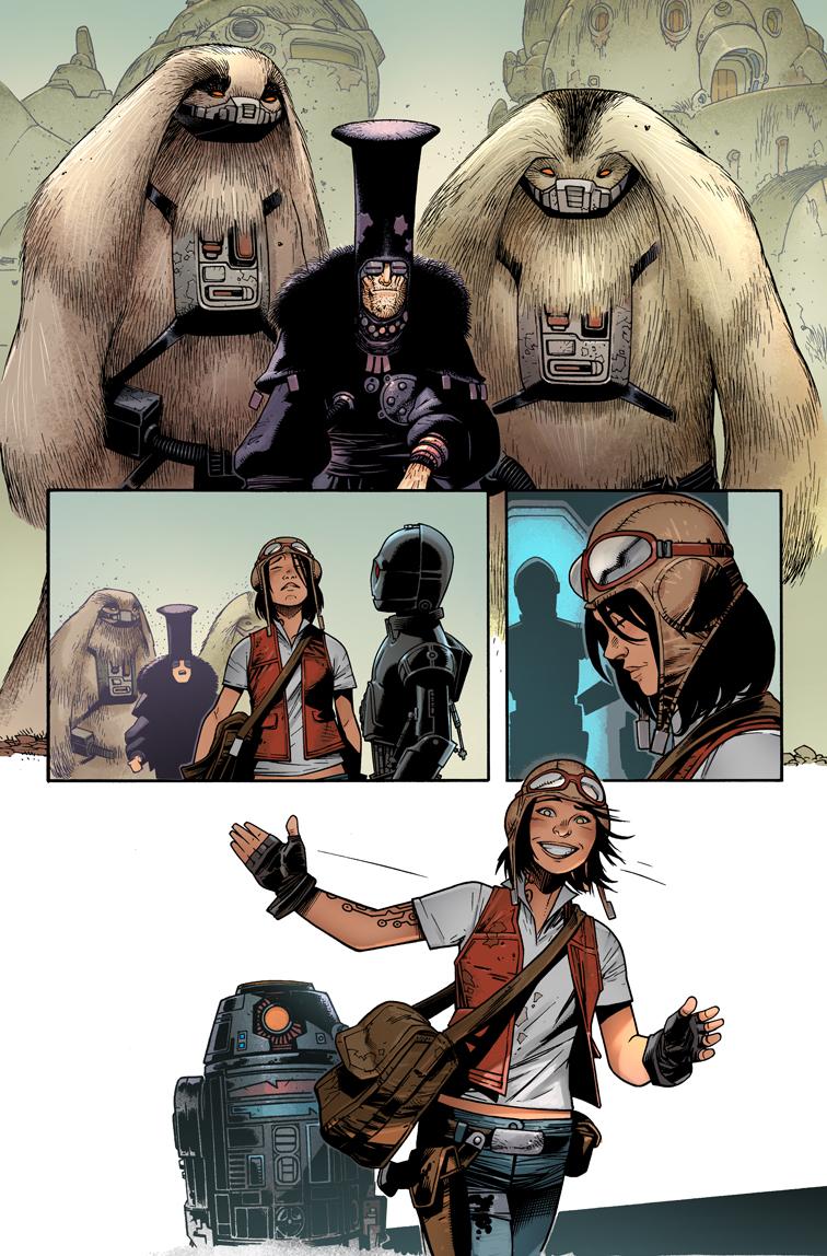 Нетолько Лея! 5 главных женских персонажей нового канона «Звездных Войн». - Изображение 20