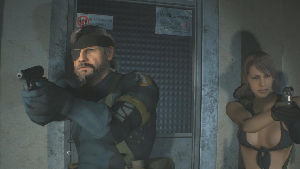 Моддеры заменили Леона и Клэр в ремейке Resident Evil 2 на Биг Босса и Молчунью   Канобу - Изображение 1