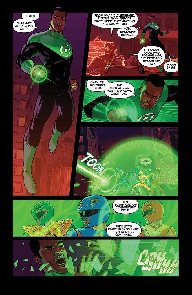 В комиксе Justice League/Power Rangers появился старый враг Супермена | Канобу - Изображение 869