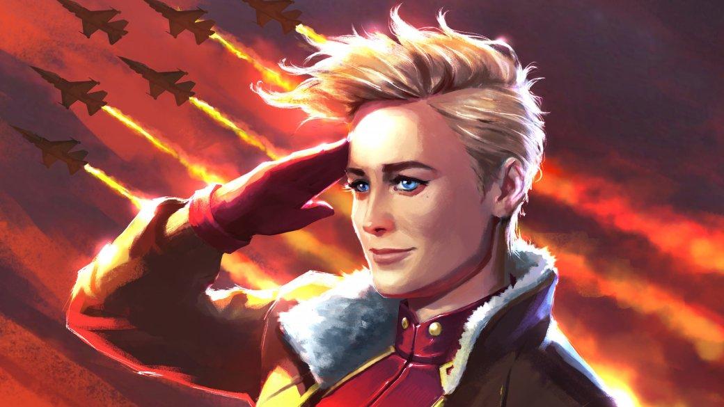 Кэрол Денверс столкнулась сглавным злодеем «Капитана Марвел» вновом отрывке изфильма | Канобу - Изображение 2316