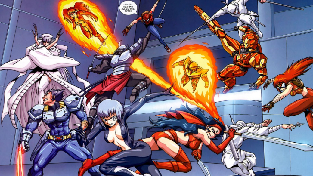 Японское безумие: как Marvel делала мангу ианиме сЧеловеком-пауком, Блэйдом идругими | Канобу - Изображение 923