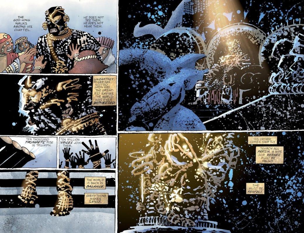 Что нетак с«Ксерксом» Фрэнка Миллера— сомнительным приквелом к«300 спартанцев» | Канобу - Изображение 9651