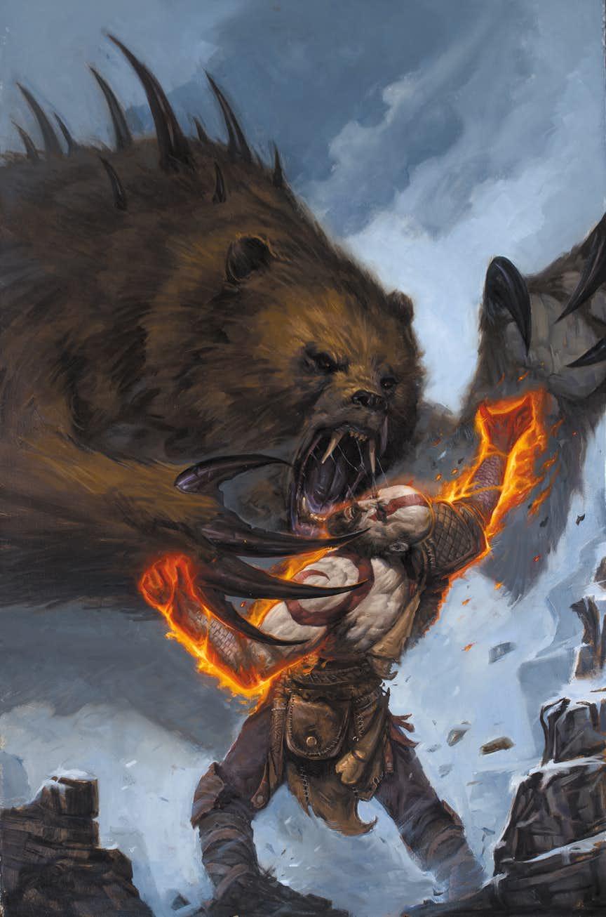 Что происходило сКратосом между оригинальной трилогией God ofWar иновой игрой? Узнаем вкомиксе! | Канобу - Изображение 8861