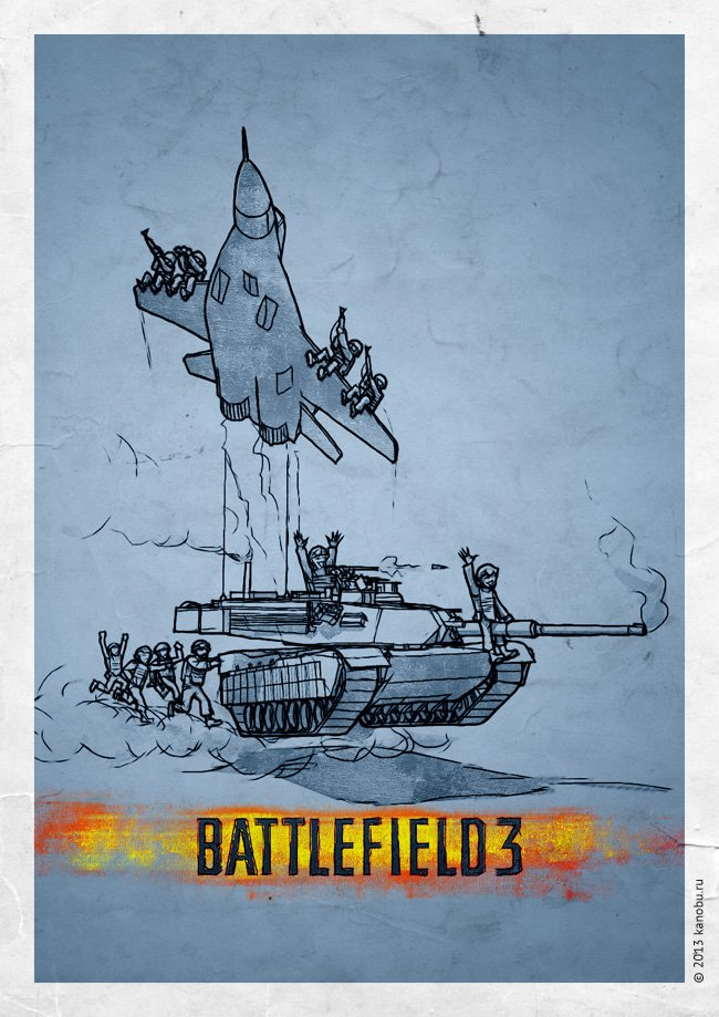Минимализм: Dishonored, Dragon Age, Hitman, DOOM, Unreal, Battlefield   Канобу - Изображение 2