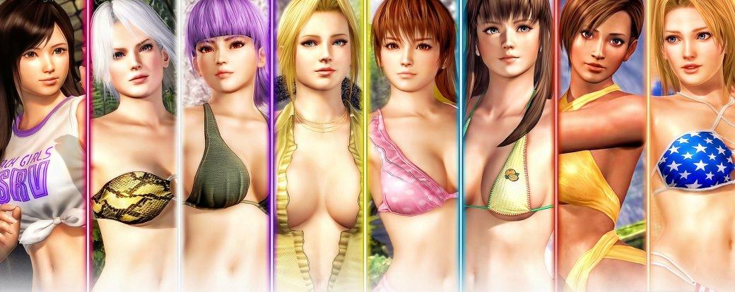 Самые сексуальные героини серии Dead orAlive, главные героини Dead orAlive 6   Канобу